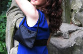 LookBook Navy Blue Dress Party OOTD The Stylish Tube